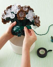 Bouquet di pigne step 3