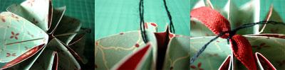 Addobbi natalizi fai da te: trasformare biglietti d'auguri in palline per l'albero 6