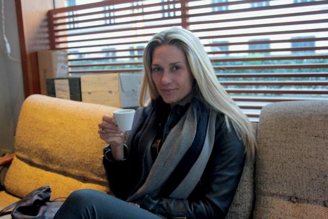 Un caffè con... Jill Cooper