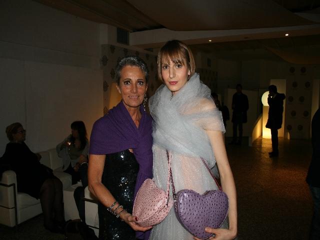 Romana Busani e la sua Love Bag