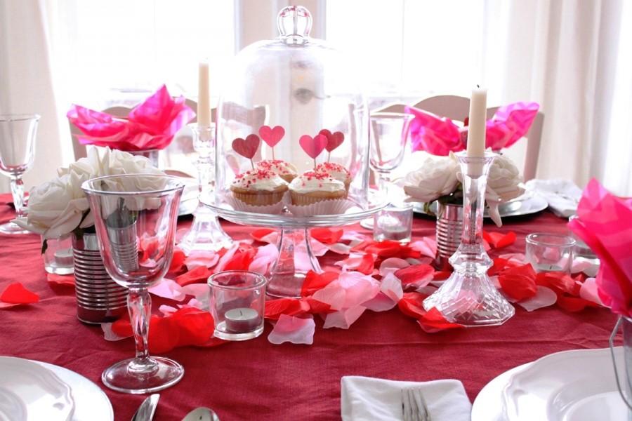 12 idee per la tavola di san valentino il romanticismo servito - Idee tavola san valentino ...