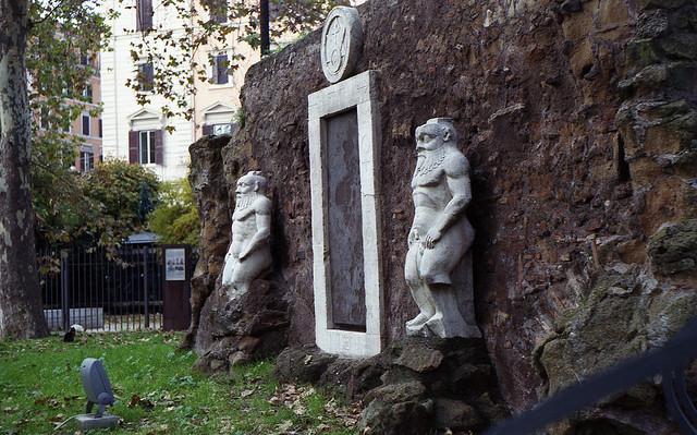 Porta alchemica - Piazza Vittorio