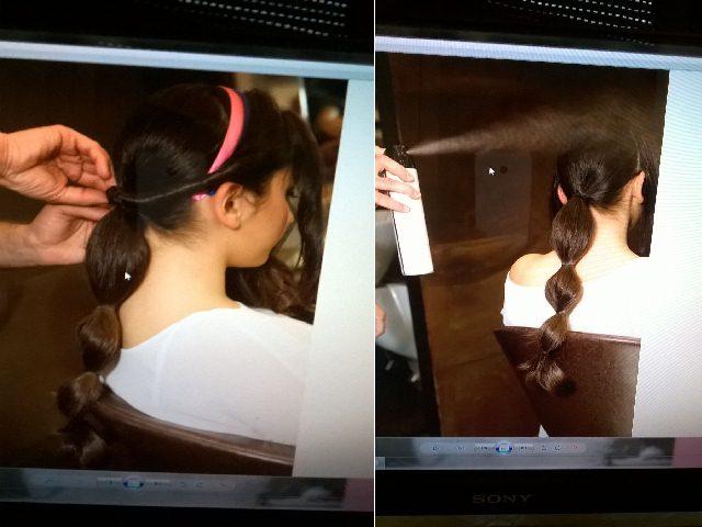 Acconciature cerimonia Torchon-capelli