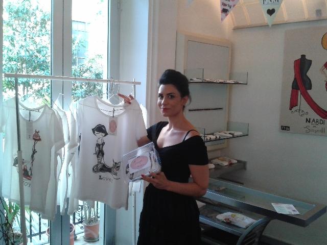 Chiara Aversano e la sua Juicydoll Alphabet collection