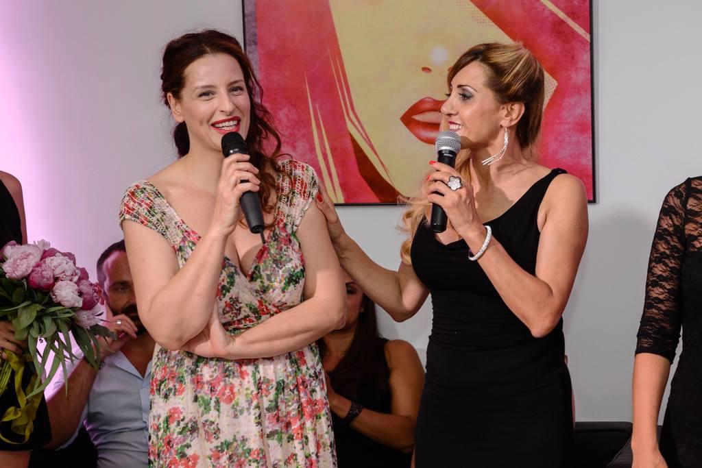 Simona Borioni e Iolanda Pomposelli