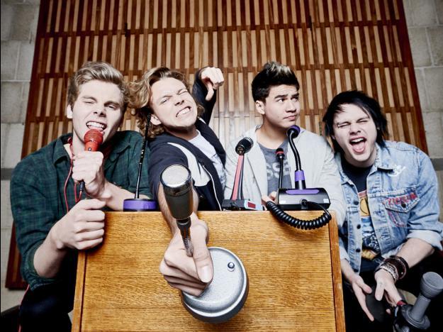 MTV EMA 2015: 5 Second of Summer