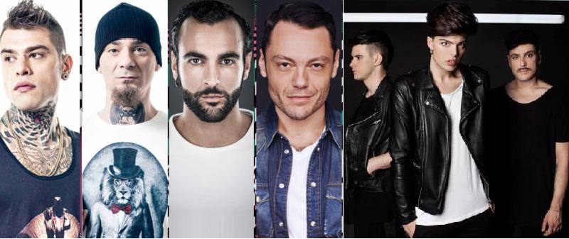 MTV EMA 2015: Nomination per Best Italian Act