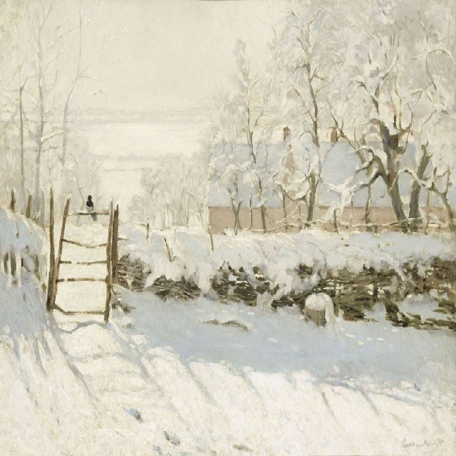 Monet - La gazza (1868-1869)