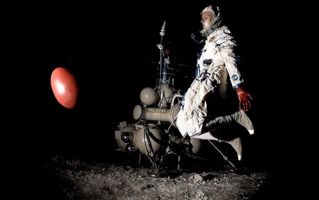 Ab Ovo Katia Pugach ricostruisce l'allunaggio della sonda 'Luna 16' al Macro di Roma