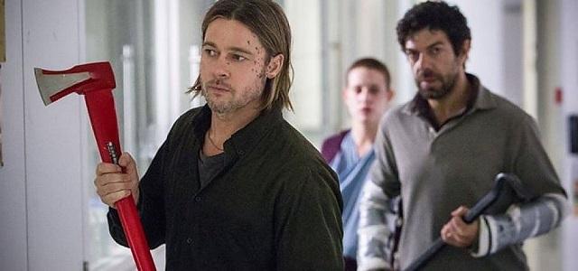 Brad Pitt e Pier Francesco Favino