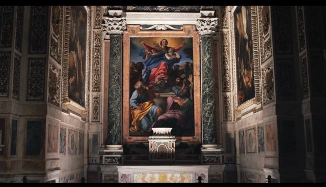 Dentro Caravaggio film evento Nexo Digital