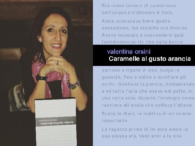 Caramelle al gusto arancia - romanzo d'esordio di Valentina Orsini