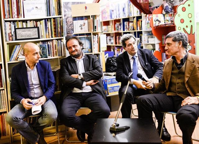 Da sx Romanelli, Andreucci, Menaglia, Barboni