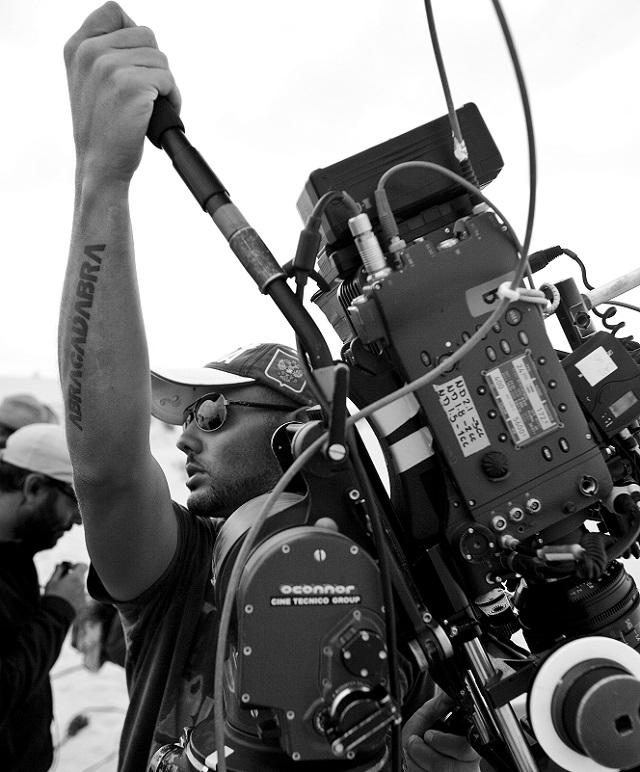 """Fabio Resinaro sul set di """"Mine"""""""