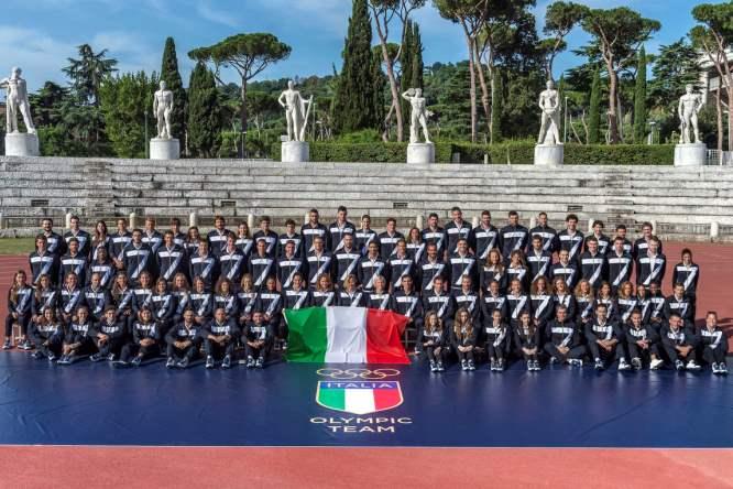 Olimpiadi Rio 2016: il Team Italia allo Stadio dei Marmi di Roma