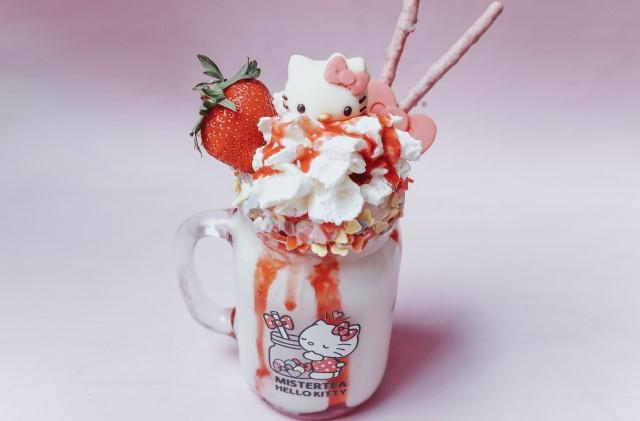Hello Kitty Mister Tea Bubbule Tea drink Milano