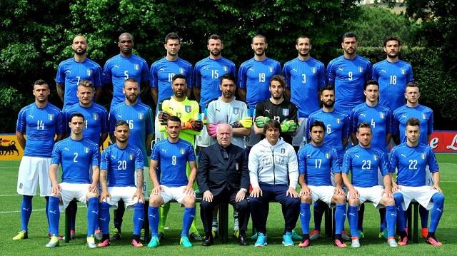 I 23 Azzurri convocati da Conte per Euro 2016