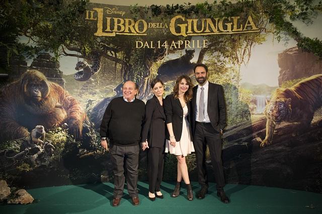 Il Libro della giungla (Disney) - Giancarlo Magalli, Giovanna Mezzogiorno, Violante Placido e Neri Marcorè le voci italiane del film