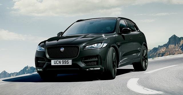 Jaguar F-PACE Dark Edition