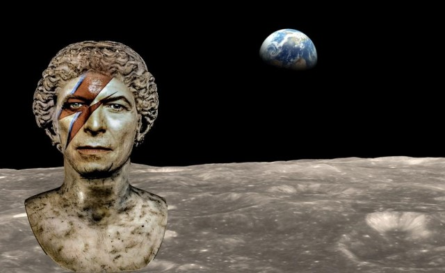 Far above the moon mostra su David Bowie