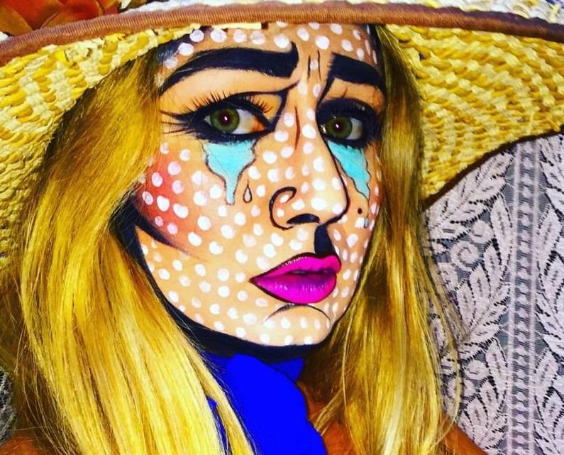 Make-up Pop Art by Antonio Ciaramella