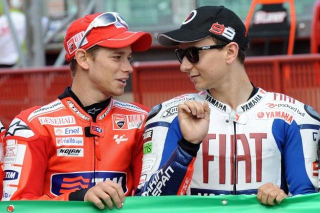 MotoGP 2016 - Casey Stoner e Jorge Lorenzo