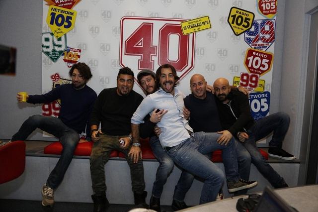 Radio 105: quarant'anni di musica e risate