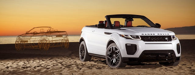 range rover evoque convertibile -estate