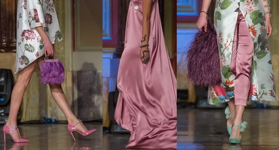 Gioielli Alex Carelli, scarpe Valentina Gallo