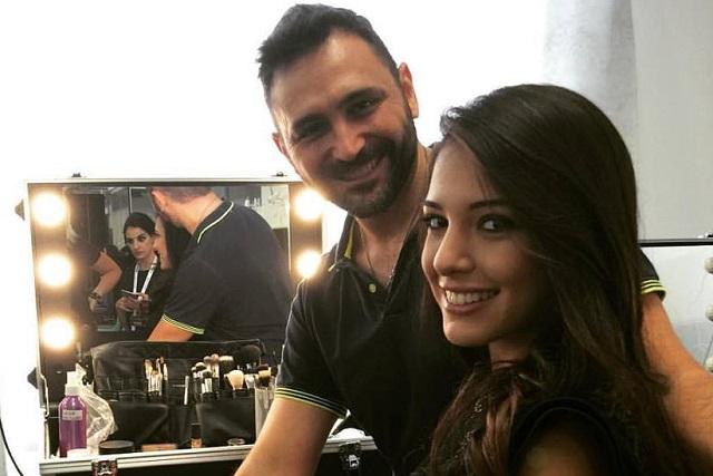 Antonio Ciaramella e Clarissa Marchese (Miss Italia 2015)