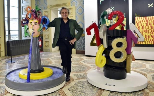 Ugo Nespolo fuori dal coro mostra Milano