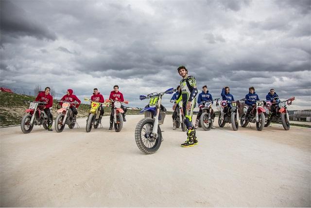 Valentino Rossi e i piloti della VR46 Riders Academy