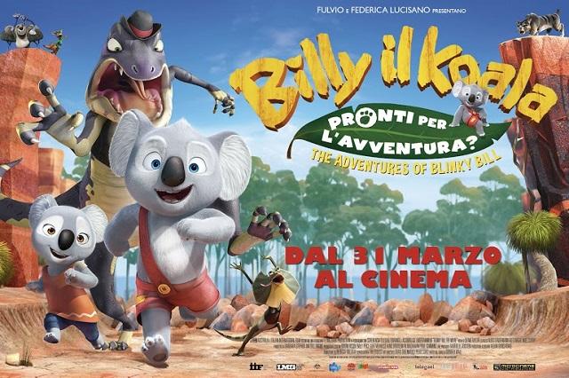 Billy il Koala - The Adventures of Blinky Bill (locandina)