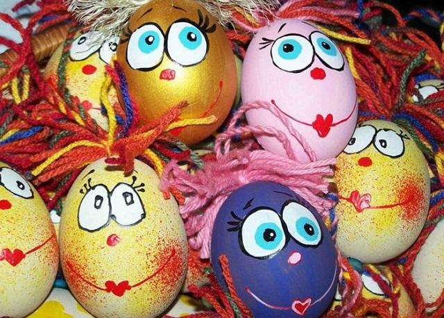 come decorare uova pasquali