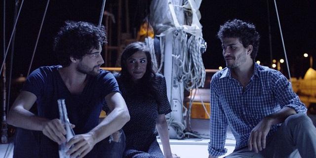 Matteo, Angela (Marianna Di Martino) e Luca (Brenno Placido)