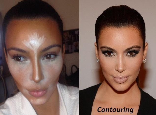 contouring-Kim-Kardashan