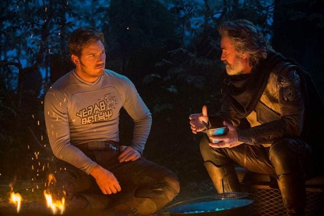 Chris Pratt e Kurt Russell
