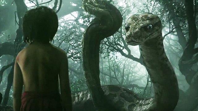 Mowgli e Kaa