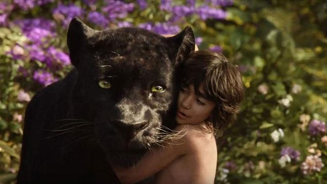 Baaghera e Mowgli