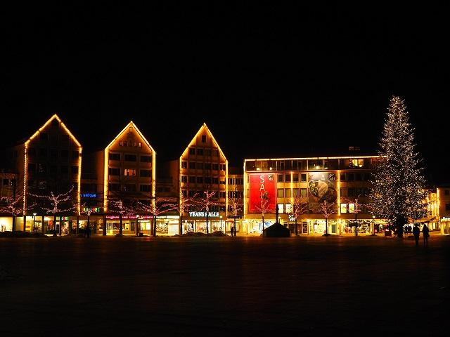 illuminazione natalizia