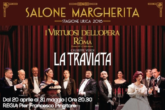 La Traviata regia di Pier Francesco Pingitore