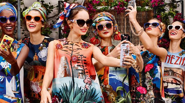 Occhiali da sole estate 2016 (Dolce&Gabbana)