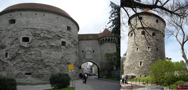 Torri di difesa Paks Margareeta e Kiek in de kok (Tallinn)