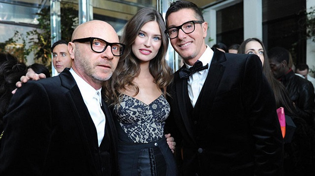 Domenico Dolce, Bianca Balti e Stefano Gabbana