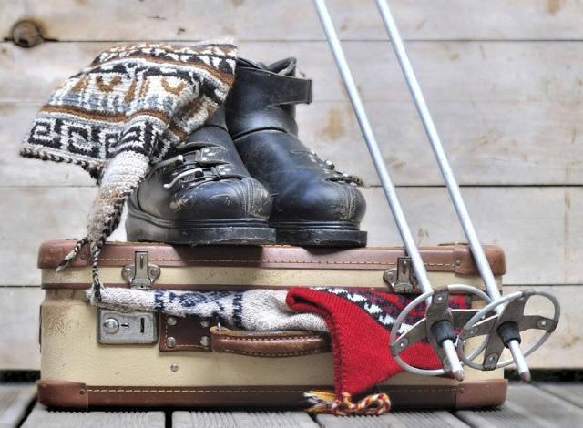 valigia-per capodanno sulla-neve