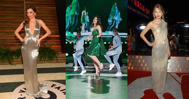 Miranda Kerr, Laura Pausini,Taylor Swift
