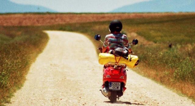 viaggio in scooter