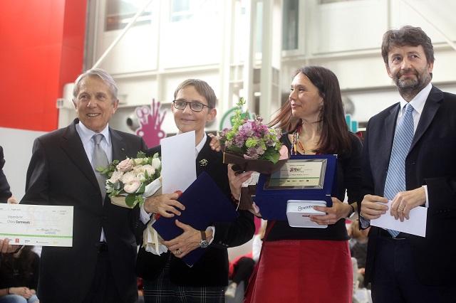 Premio Strega Ragazze e Ragazzi - le vincitrici Susanna Tamaro e Chiara Carminati