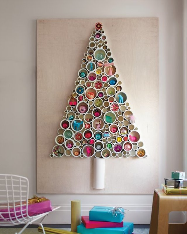 Idee Albero Di Natale Fai Da Te Tra Carta Legno E Soluzioni