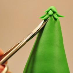 Fase delle foglie albero